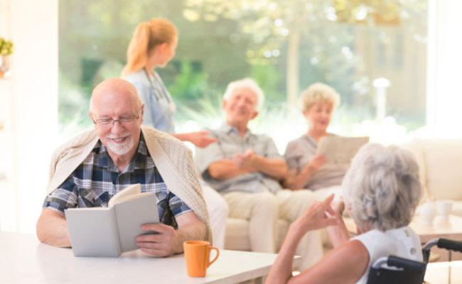 Elderly Parents Living