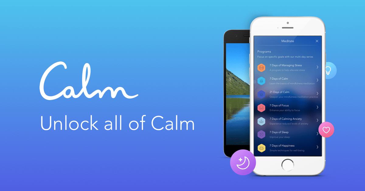 Calm Mobile App