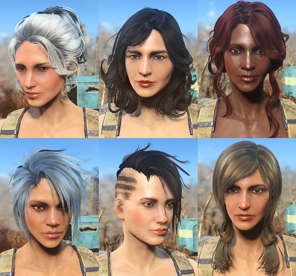 more hair styles for male and female unlocked