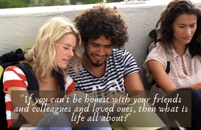 a stranger who's a friend