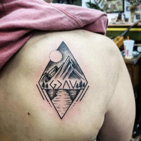 Inside A Rhombus