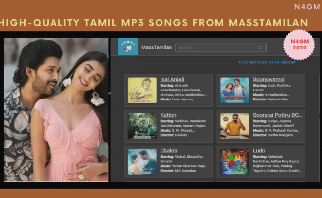 High-Quality Tamil Mp3 Songs From Masstamilan