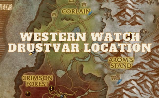 Western Watch Drustvar Location