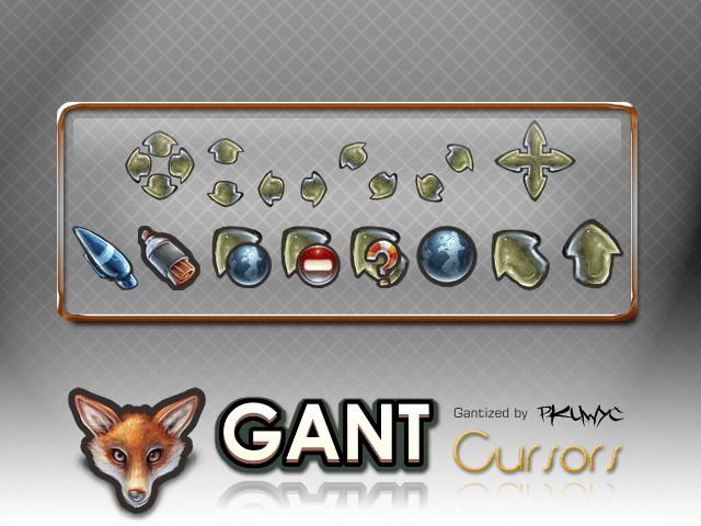 Gant Cursor Pack