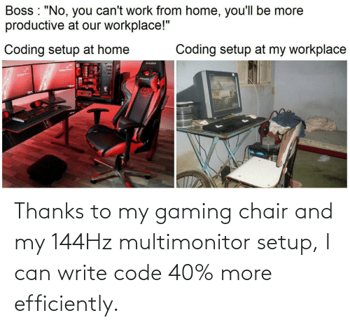 Coding Chair