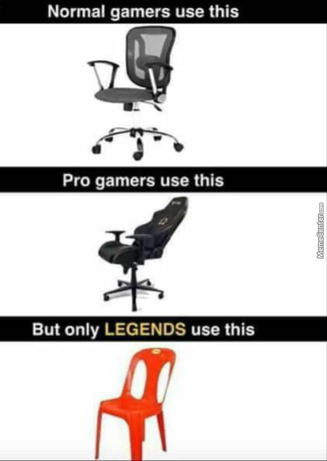 Pro Gamers Vs Legenders Gamers Chair