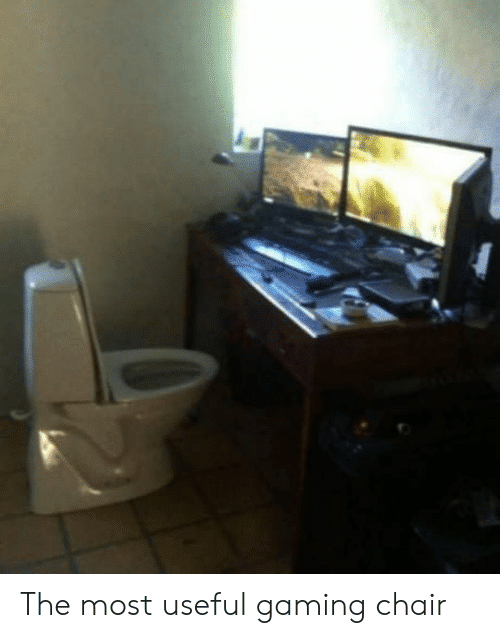 Toilet Gaming Chair