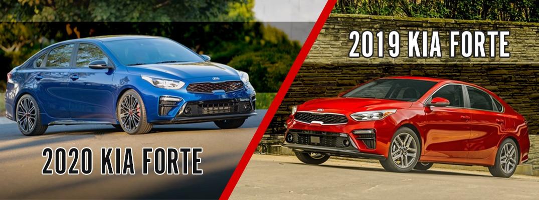 Kia Forte 2019 vs 2021