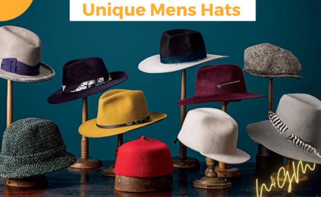 Unique Mens Hats