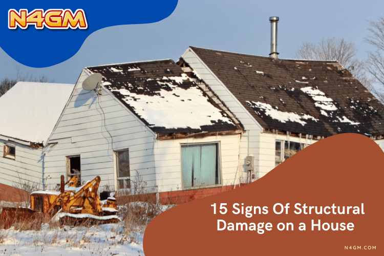 15 Signs Of Structural Damage on a House