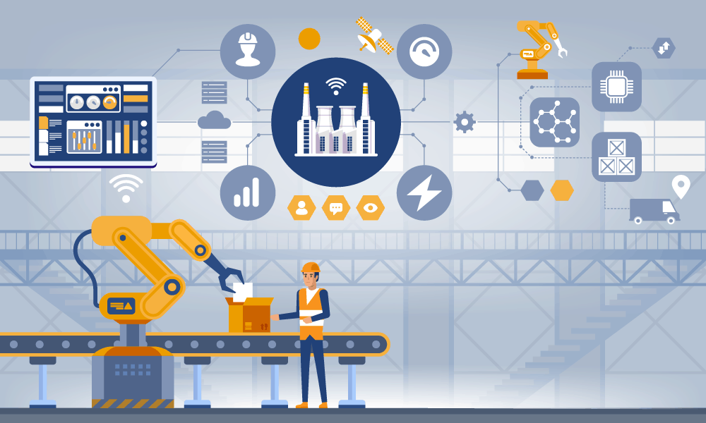 Top Manufacturing Industry implementations of IoT